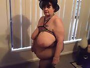 Jenny a very sexy gorgeous bbw exhibitionist grandma