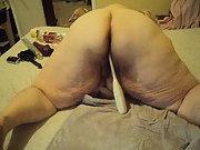 New vids of me having fun playing mature amateur BBW masturbating