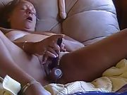 BBW Lucy enjoying her pussy delights